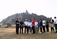 Presiden RI Joko Widodo Meminta Percepat 4 destinasi wisata prioritas - wisata candi borobudur - Biro Pers Setneg - Muchlis Jr - 3