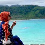 Elif Kubra Genc - selebgram turki - di Aceh